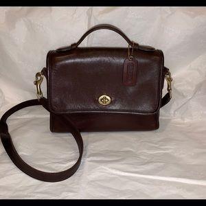 Coach Vintage Court Bag, Brown